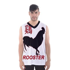 Year of the Rooster - Chinese New Year Men s Basketball Tank Top