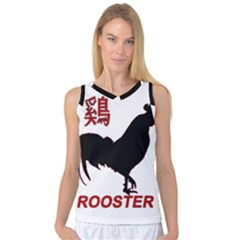 Year of the Rooster - Chinese New Year Women s Basketball Tank Top