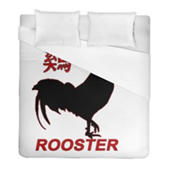 Year of the Rooster - Chinese New Year Duvet Cover (Full/ Double Size)