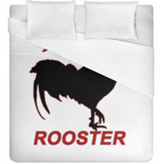 Year of the Rooster - Chinese New Year Duvet Cover (King Size)