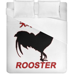 Year of the Rooster - Chinese New Year Duvet Cover (California King Size)