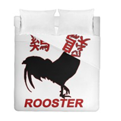 Year of the Rooster - Chinese New Year Duvet Cover Double Side (Full/ Double Size)