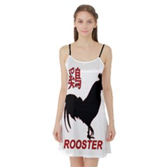 Year of the Rooster - Chinese New Year Satin Night Slip