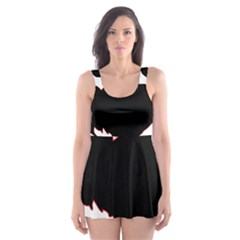 Year of the Rooster - Chinese New Year Skater Dress Swimsuit