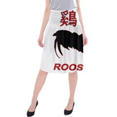Year of the Rooster - Chinese New Year Midi Beach Skirt