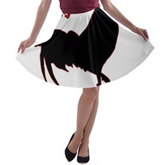 Year of the Rooster - Chinese New Year A-line Skater Skirt
