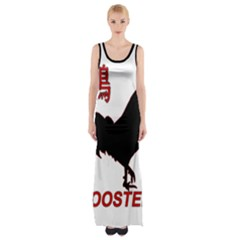 Year of the Rooster - Chinese New Year Maxi Thigh Split Dress