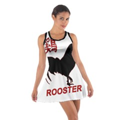 Year of the Rooster - Chinese New Year Cotton Racerback Dress