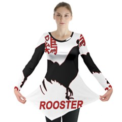 Year of the Rooster - Chinese New Year Long Sleeve Tunic