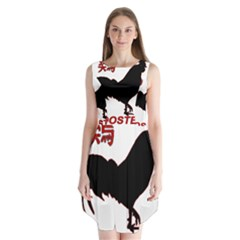 Year of the Rooster - Chinese New Year Sleeveless Chiffon Dress