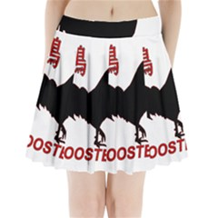 Year of the Rooster - Chinese New Year Pleated Mini Skirt