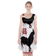 Year of the Rooster - Chinese New Year Racerback Midi Dress