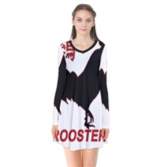 Year of the Rooster - Chinese New Year Flare Dress