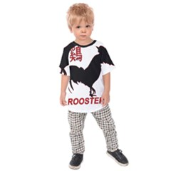 Year of the Rooster - Chinese New Year Kids  Raglan Tee