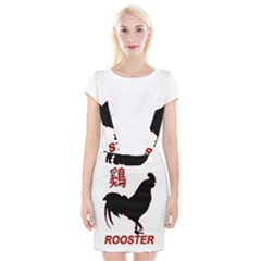 Year of the Rooster - Chinese New Year Suspender Skirt