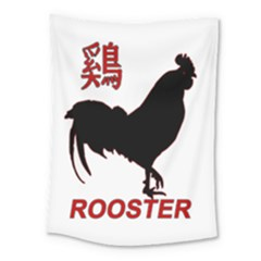 Year of the Rooster - Chinese New Year Medium Tapestry