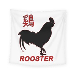 Year of the Rooster - Chinese New Year Square Tapestry (Small)
