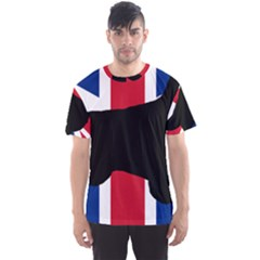 English Setter Silhouette United Kingdom Men s Sport Mesh Tee