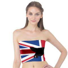 English Setter Silhouette United Kingdom Tube Top