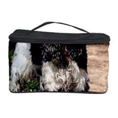 Black Roan English Cocker Spaniel Cosmetic Storage Case