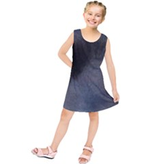 Cocker Spaniel Black Eyes Kids  Tunic Dress