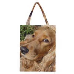 Red Cocker Spaniel Red Classic Tote Bag