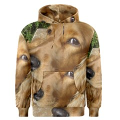 Red Cocker Spaniel Red Men s Pullover Hoodie