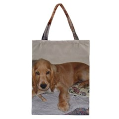 Red Cocker Spaniel Puppy Classic Tote Bag