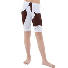 English Springer Spaniel Silo Color Kids  Mid Length Swim Shorts