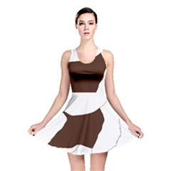 English Springer Spaniel Silo Color Reversible Skater Dress