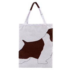 English Springer Spaniel Silo Color Classic Tote Bag