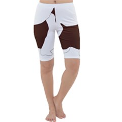 English Springer Spaniel Silo Color Cropped Leggings