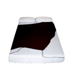English Springer Spaniel Silo Color Fitted Sheet (Full/ Double Size)