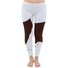 English Springer Spaniel Silo Color Classic Winter Leggings