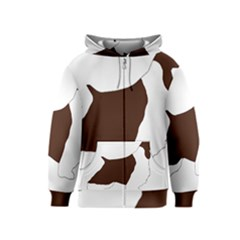 English Springer Spaniel Silo Color Kids  Zipper Hoodie