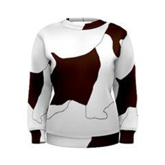 English Springer Spaniel Silo Color Women s Sweatshirt