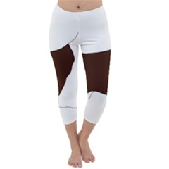 English Springer Spaniel Silo Color Capri Winter Leggings