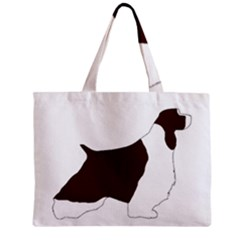 English Springer Spaniel Silo Color Zipper Mini Tote Bag