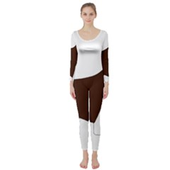 English Springer Spaniel Silo Color Long Sleeve Catsuit