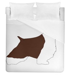 English Springer Spaniel Silo Color Duvet Cover (Queen Size)