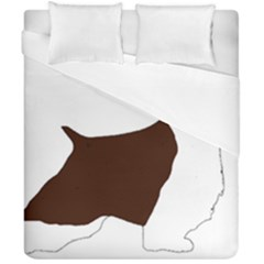 English Springer Spaniel Silo Color Duvet Cover Double Side (California King Size)