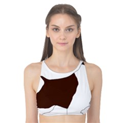 English Springer Spaniel Silo Color Tank Bikini Top