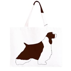 English Springer Spaniel Silo Color Large Tote Bag