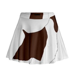 English Springer Spaniel Silo Color Mini Flare Skirt