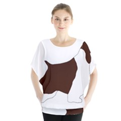 English Springer Spaniel Silo Color Blouse