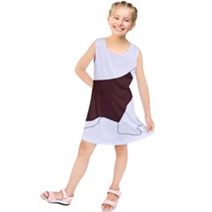 English Springer Spaniel Silo Color Kids  Tunic Dress