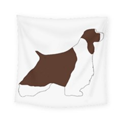 English Springer Spaniel Silo Color Square Tapestry (Small)