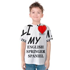 Eng Spr Sp Love Kids  Cotton Tee