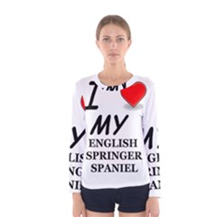 Eng Spr Sp Love Women s Long Sleeve Tee
