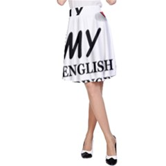 Eng Spr Sp Love A-Line Skirt